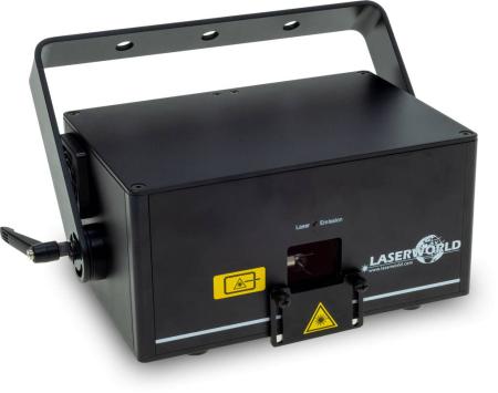 LASERWORLD CS-1000RGB MKIII - 1 Watt Full Diode RGB ILDA & DMX Lasersystem