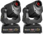 "Preview: SPAR SET: 2x BeamZ Professional ""IGNITE60"" Moving Head mit 60 Watt LED + Flight Case"