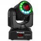 "Preview: BUNDLE: 2x BeamZ ""Panther 35"" 35 Watt LED Moving Head Spot mit LED Ring inkl. Case"