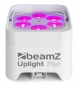 "Preview: BeamZ ""BBP96SW"" Uplight Akku LED Par mit WDMX und 6x 12 Watt RGBWA-UV LED's"