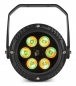 "Mobile Preview: BeamZ ""BWA63"" 6x 3 Watt RGB IP65 Outdoor Scheinwerfer mit Fernbedienung"