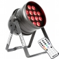 "Preview: BeamZ ""BPP220"" LED PAR 64 Scheinwerfer mit 12x 12 Watt RGBW LEDs"