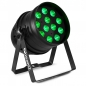 "Preview: BeamZ ""BPP120"" LED PAR 64 Scheinwerfer mit 12x 3 Watt RGB LEDs"