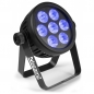"Preview: BeamZ Professional ""BAC500"" Aluminium ProPAR mit 7x 14 Watt RGBA-UV-CW/WW LED's"