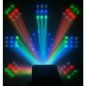 "Preview: BeamZ ""Revo 9 Burst Pro"" 20 Watt LED DMX RGBW Lichteffekt mit 187 LED's"