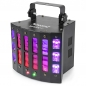 "Preview: BeamZ ""Magic2"" 9x 3 Watt LED DMX Derby mit Laser, Strobe & UV"