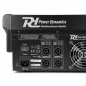 "Mobile Preview: Power Dynamics ""PDM-S1204A"" 12-Kanal Power Mixer mit 2x 350W RMS, 24-Bit DSP, Bluetooth und USB Player"