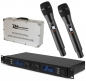 "Mobile Preview: Power Dynamics ""PD632H"" UHF-Doppel Funkmikrofon Digital System"