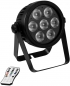 "Preview: EUROLITE ""LED 7C-7"" Silent Slim Spot mit 7x 9 Watt 7-in-1 LED's"
