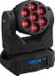 "Preview: IMG Stage Line ""WASH-100RGBW"" Moving Head Beam 7x 15W RGBW LED's"