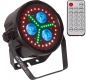 "Preview: IBIZA Light ""PARLED318-FX1"" LED Scheinwerfer mit 3x 18 Watt RGBWA+UV LED's & 45x 0.5W RGB SMD LED's"