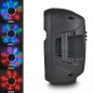 "Preview: PARTY Mobiles Soundsystem ""Party-7LED"" mit Mikro, USB, Bluetooth & Radio"