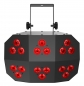 "Preview: CHAUVET DJ ""Wash FX 2"" Washlight mit 6 Zonen und 18x 6 Watt RGB+UV LEDs"