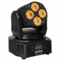 "Preview: JB SYSTEMS ""CLUBWASH MINI"" 4x 12 Watt RGBWA+UV LED Wash Moving Head"