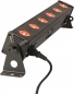 "Preview: IBIZA Light ""LEDBAR6-RC"" 6x 8 Watt DMX RGBW LEDBAR mit IR-Fernbedienung"