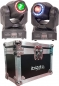 "Preview: BUNDLE: 2x IBIZA Light ""MHSPOT30-FX"" 2-in-1 Moving Head mit 30 Watt LED inkl. Case"