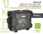 "Preview: IBIZA Sound ""WPORT10-300"" Mobiler Outdoor Akku Beschallungstrolley mit USB, FM-Radio, Funkmikro und Bluetooth, 300W"
