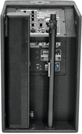 "SET: 2x OMNITRONIC ""ACS-410BTS"" Aktives 410 Watt Säulensystem mit Stereo-Bluetooth Link"