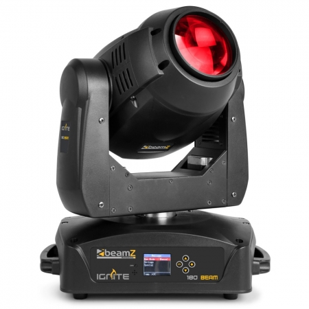 "BeamZ Professional ""IGNITE180B"" Set: 2x 180 Watt Beam Moving Head mit Rollcase"