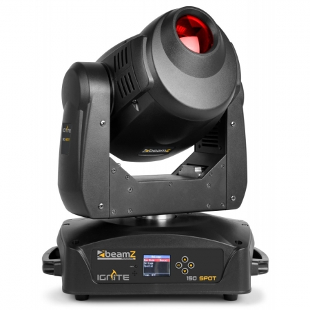 "BeamZ Professional ""IGNITE150"" Moving Head mit 150 Watt LED, rotierenden Gobos und Prisma"