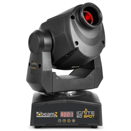 "BeamZ Professional ""IGNITE60"" Moving Head mit 60 Watt LED, rotierenden Gobos und Prisma"