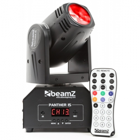 "BeamZ ""Panther 15"" Pocket Beam mit 10 Watt 4-in-1 LED"