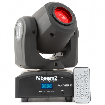 "BeamZ ""Panther 25"" Moving Head mit 12 Watt CREE LED"