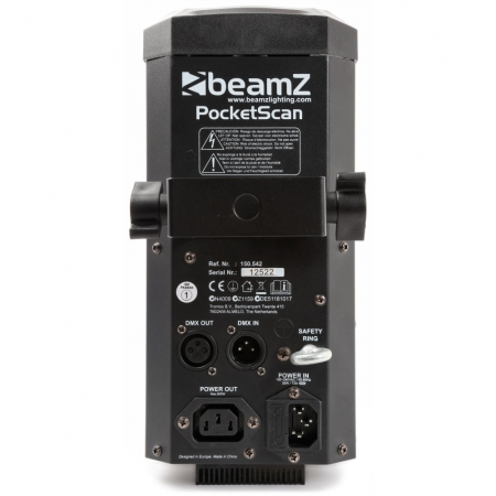 "BeamZ ""PocketScan LED"" Set aus 2 Scannern und Flightcase"