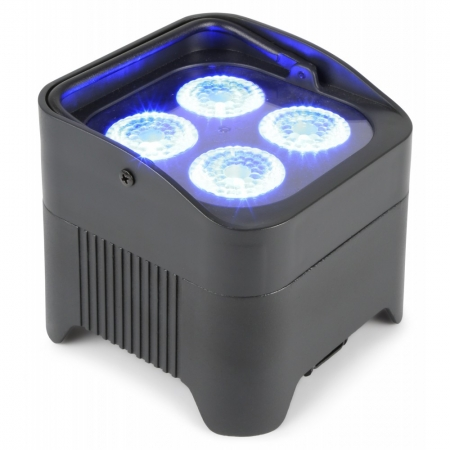 "BeamZ ""BBP94"" Uplight Akku LED Par mit 4x 10 Watt RGBWA-UV"