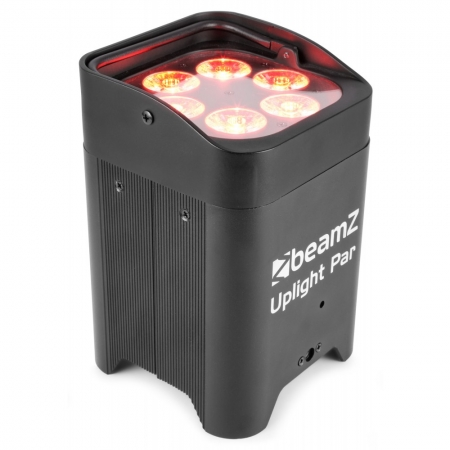 "BeamZ ""BBP96"" Uplight Akku LED Par mit 6x 10 Watt RGBWA-UV"