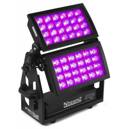 "BeamZ Professional ""Star-Color 720"" Doppel LED RGBWA Wall Wash Panel 48x 15 Watt"