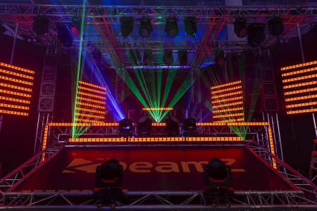"BeamZ ""LCB14"" Hybrid Blinder + Ambient Light LED Pixel Bar"