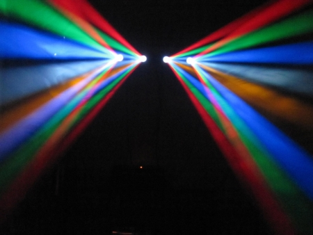 "INVOLIGHT ""RX 350 V.2"" DMX Flower Bar mit 256 RGBWY LEDs"