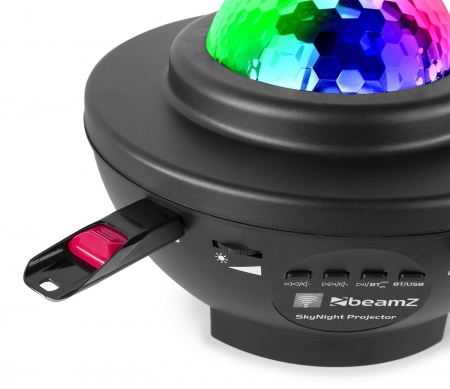 "BeamZ ""SkyNight"" LED & Laser Nachthimmel Effektprojektor mit Bluetooth & USB Media Player"