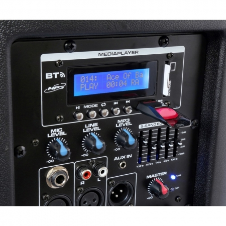 "VONYX ""SPX-PA9210"" Mobile PA-Anlage mit USB/SD/MP3/FM/UHF/BT"