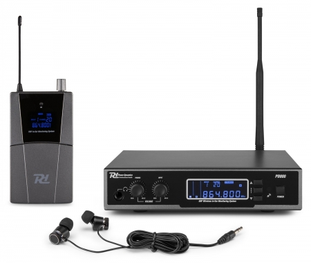 "Power Dynamics ""PD800"" UHF In-Ear Monitoring IEM System im Koffer"