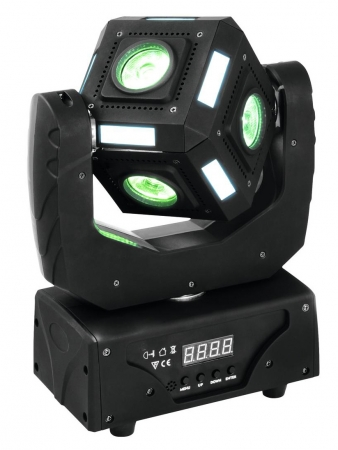 "EUROLITE ""MFX-3 Action Cube"" RGBW-Beam-Moving-Cube mit Moodlight-Strips"