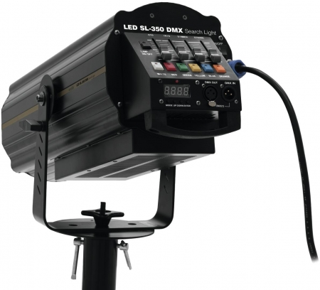 "EUROLITE ""LED SL-350 DMX"" Follow Spot, Verfolger Scheinwerfer, Search Light"