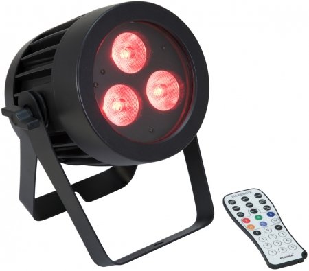 EUROLITE IP PAR 3x9W SCL RGB/WW/CW/A/UV Outdoor Spot