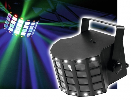 "EUROLITE ""LED Mini D-6"" 2-in-1 Effekt: Derby/Strobe"
