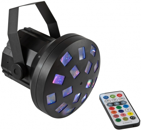"EUROLITE ""LED Mini Z-20 USB"" 4x 3 Watt LED RGBW Mushroom Effekt mit IR-Fernbedienung"