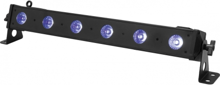 "EUROLITE ""LED BAR-4 QCL"" 6x 4 Watt RGB+UV Leiste mit QuickDMX USB Slot"