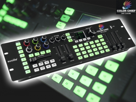 "EUROLITE ""Color Chief"" DMX LED Controller"