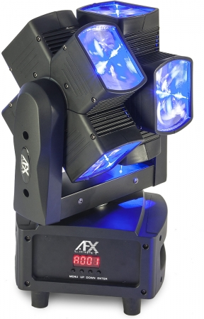"AFX Light ""8ROLL-FX"" Doppel Beam Twister Moving Head"