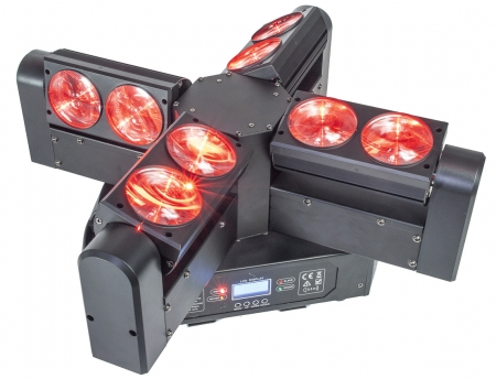 "AFX Light ""BLADE8-FX"" 4-armiger Beam LED Moving Head"