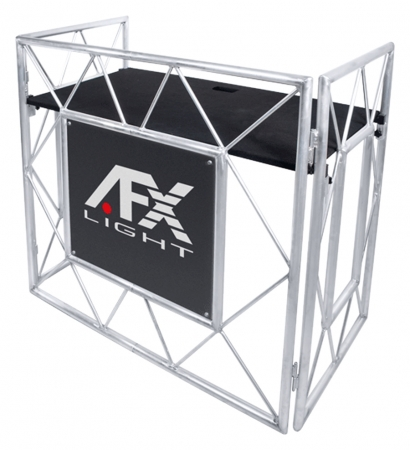 "AFX Light ""DJ-BOOTH"" Professioneller Aluminium Event Tisch für Entertainer"