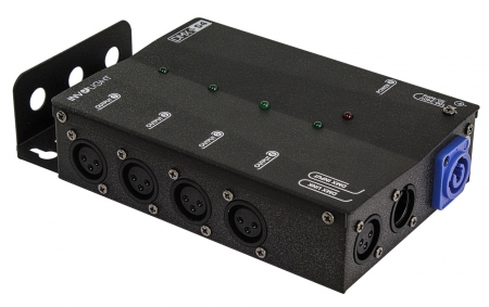"INVOLIGHT ""DMXS4"" 4-fach DMX Splitter/Repeater"