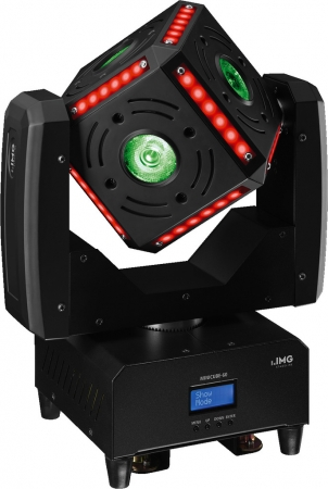 "IMG Stage Line ""MINICUBE-60"" Beam Moving Head Würfel"