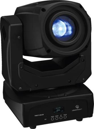 "SPAR SET: 2x LEUCHTKRAFT ""TWIST-60LED"" Moving Head mit 60 Watt CREE LED"