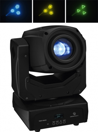 "LEUCHTKRAFT ""TWIST-60LED"" Moving Head mit 60 Watt CREE LED"